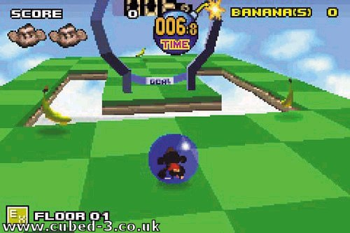 Screenshot for Super Monkey Ball Jr. on Game Boy Advance