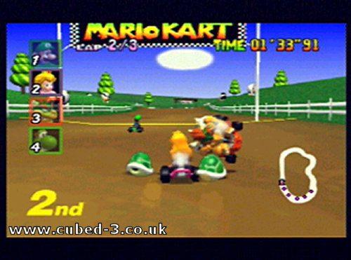 Screenshot for Mario Kart 64 on Nintendo 64- on Nintendo Wii U, 3DS