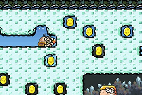 Screenshot for Super Mario Advance 3: Yoshi's Island - click to enlarge