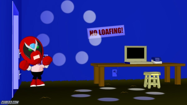 Screenshot for Strong Bad Episode 1: Homestar Ruiner on WiiWare - on Nintendo Wii U, 3DS games review
