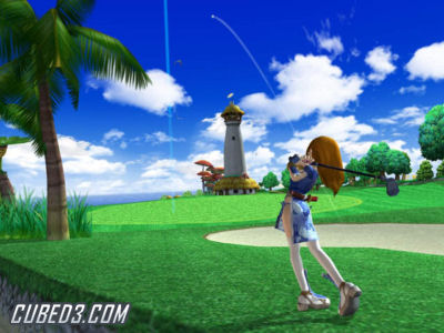 Screenshot for Super Swing Golf on Wii - on Nintendo Wii U, 3DS games review